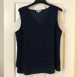 Skies Are Blue | Sleeveless Blouse | Size: XL